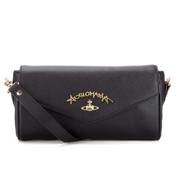 Vivienne Westwood Women's Divina Shoulder Bag - Black