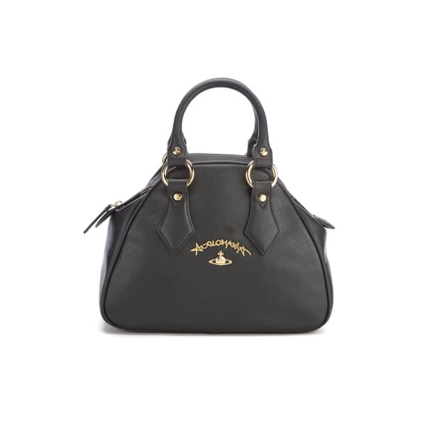 Vivienne Westwood Women's Divina Small Tote Bag - Black