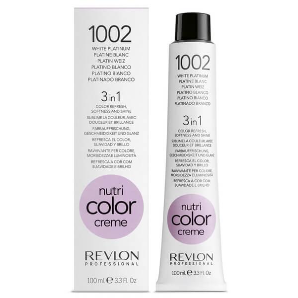 Revlon Nutri Color Creme 250ml 1002 White Platinum
