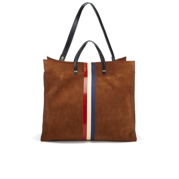 Clare V. Women's Simple Supreme Tote Bag - Tan