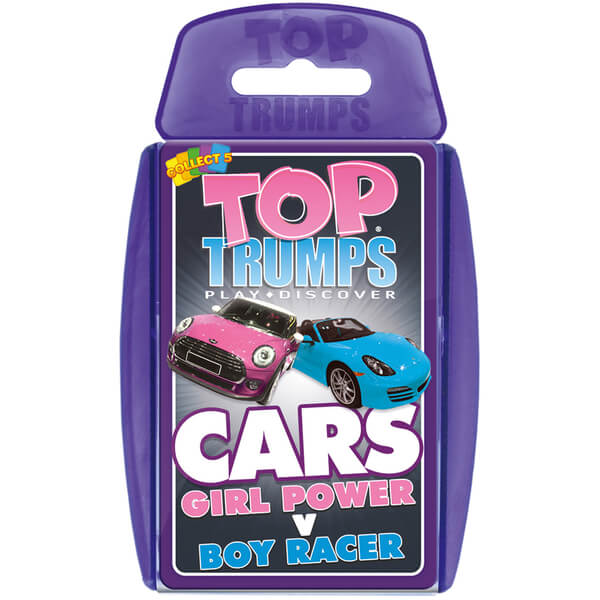 Top Toys For Boys Game : Classic top trumps girl power vs boys cars toys zavvi