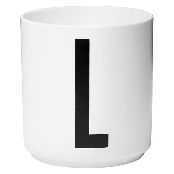 Design Letters Porcelain Cup - L