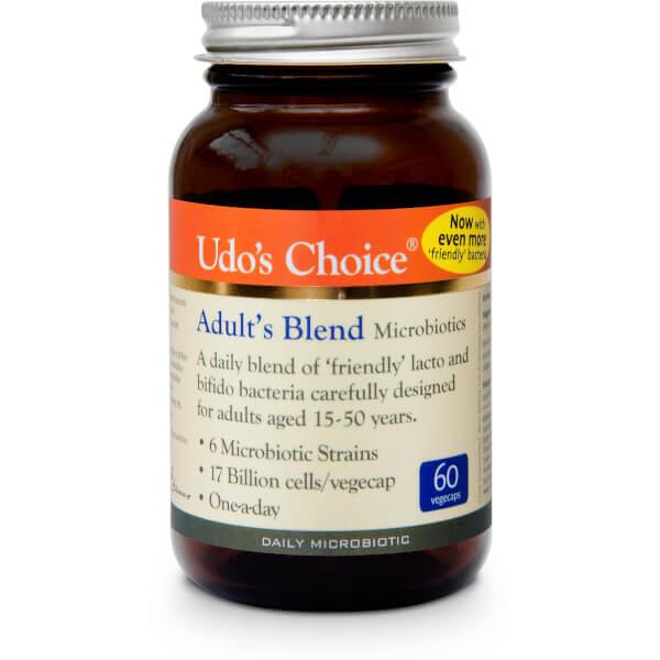 Udo's Choice Adult's Blend Microbiotics - 60 Vegecaps
