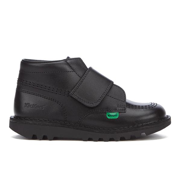 Kickers Kids' Kick Kilo Velcro Strap Boots - Black