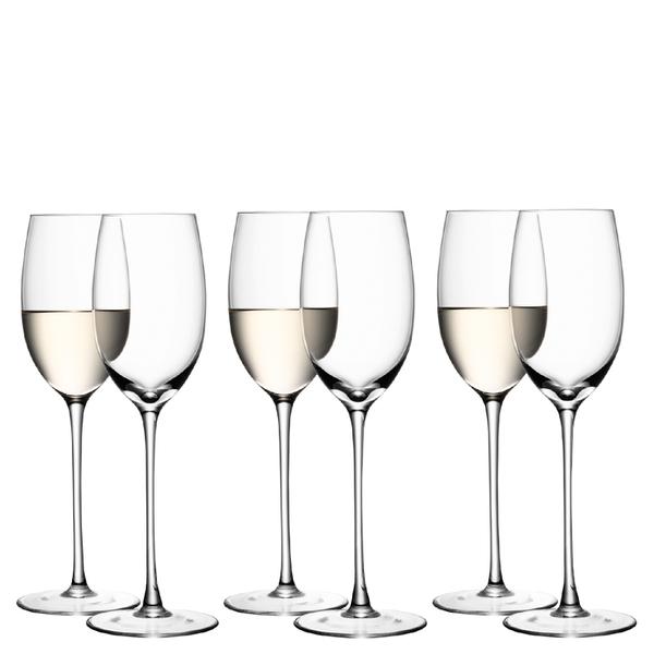 LSA White Wine Glasses - 340ml (Set of 6)
