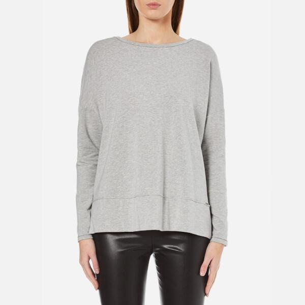 BOSS Orange Women's Tersweat Sweatshirt - Medium Grey
