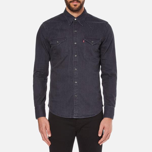 Levi's Men's Barstow Western Shirt - Inky Blue