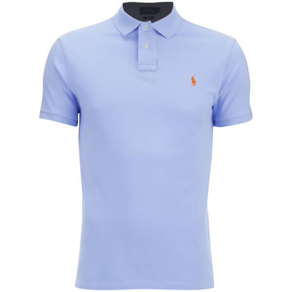 Polo Ralph Lauren Men's Custom Fit Polo Shirt - Pebble Blue