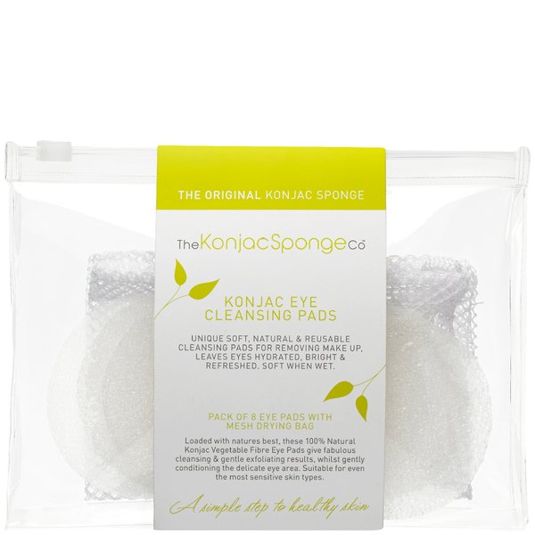The Konjac Sponge Company Eye Pads (8 Pack)