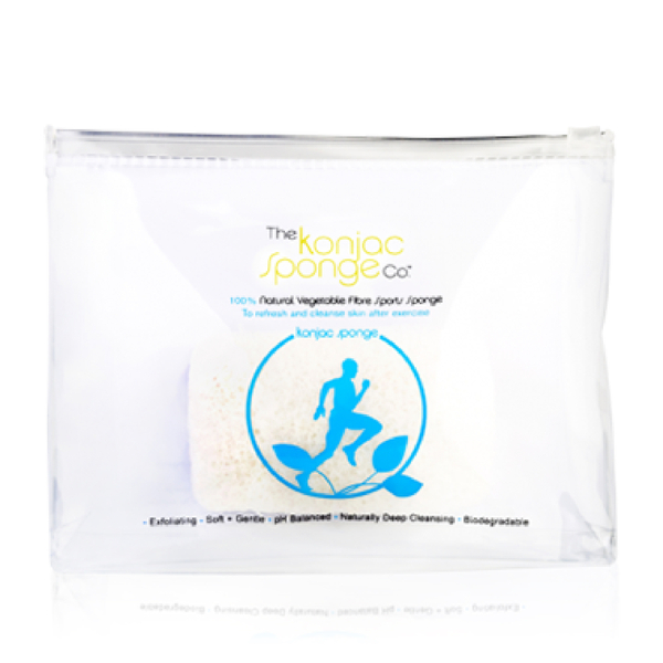 The Konjac Sponge Company 100% Pure Running Man Sports Sponge