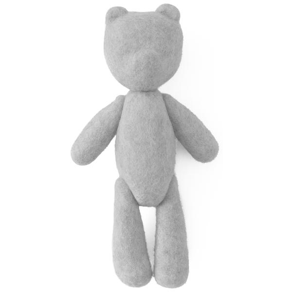 Menu Woolen Teddy Bear - Light Grey