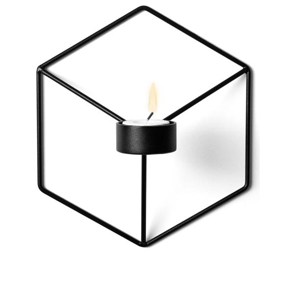 Menu POV Candle Holder Wall - Black