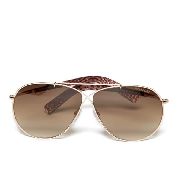 Tom Ford Women's Eva Sunglasses - Brown