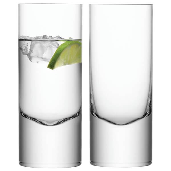 LSA Boris Highball Glasses - 360ml - Set of 2