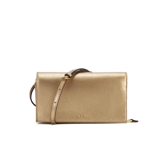 Lauren Ralph Lauren Women's Newbury Cross Body Bag - Gold