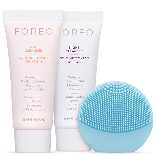 Foreo Holiday Cleansing Colección – Luna Play en Mint
