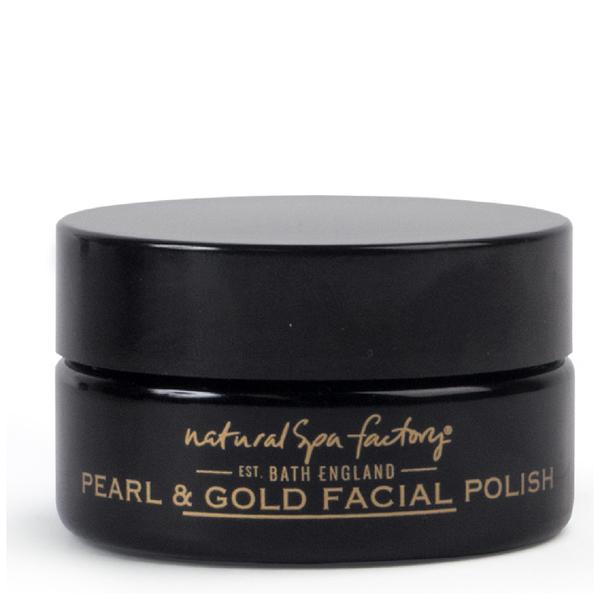 Natural Spa Factory Pearl and Gold Facial Polish