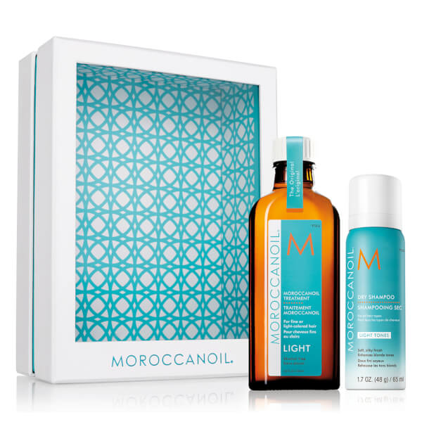 Moroccanoil Home and Away Light Set - Light (Worth £177.00)