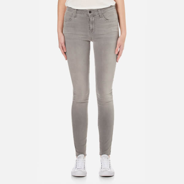 J Brand Women's Maria High Rise Supersoft Photoready Skinny Jeans - Dusk Haze
