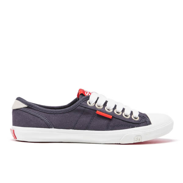 Superdry Women's Low Pro Trainers - Navy