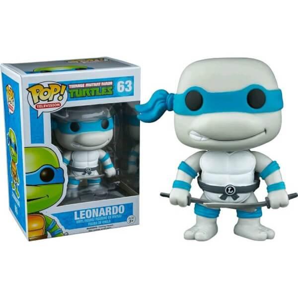 Teenage Mutant Ninja Turtles Leonardo Greyscale Pop! Vinyl Figure