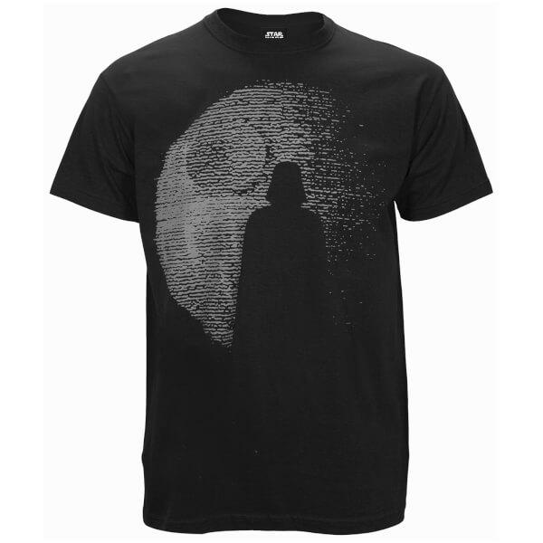 Star Wars: Rogue One Men's Dotted Darth Vadar T-Shirt - Black