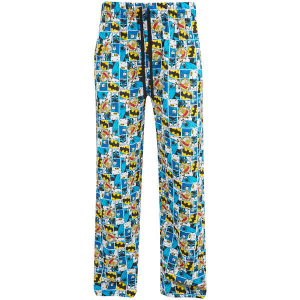 DC Comics Men's Batman Boom Lounge Pants - Multi