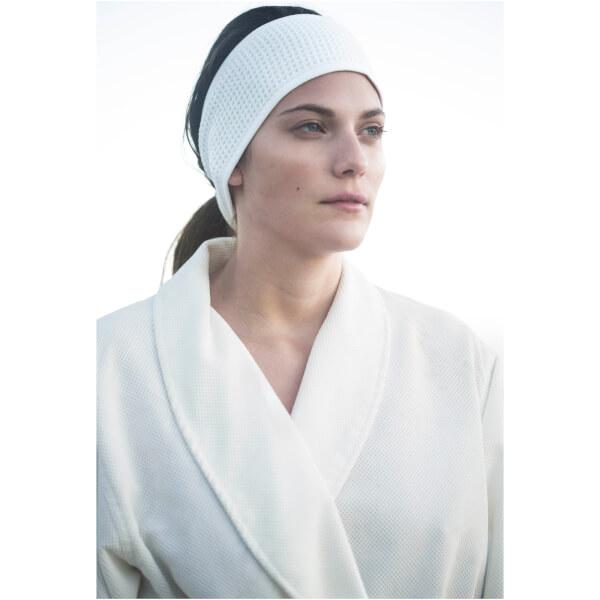 Aquis Lisse Luxe Headband - White