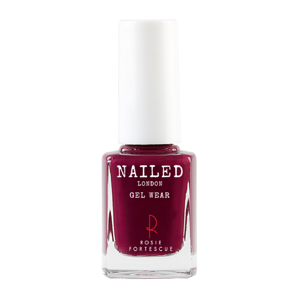 Nailed London with Rosie Fortescue Nail Polish 10ml - Berry Sexy