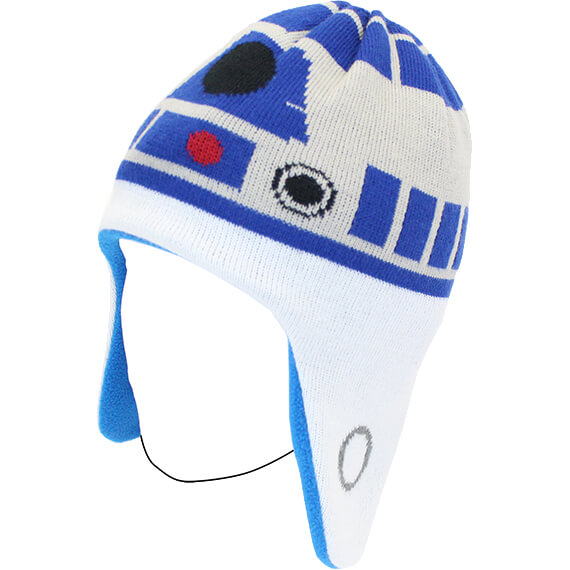 Knitting Pattern For R2d2 Hat : Star Wars R2-D2 Knitted Hat Merchandise Zavvi.com