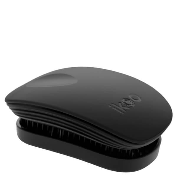 ikoo Pocket Detangling Hair Brush - Black Classic