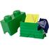 LEGO Storage Brick 2- Dark Green: Image 2