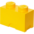 LEGO Storage Brick 2- Yellow: Image 1
