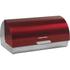 Morphy Richards 46241 Roll Top Bread Bin - Red: Image 1