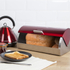 Morphy Richards 46241 Roll Top Bread Bin - Red: Image 2