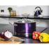 Morphy Richards 46373 Accents Casserole Dish - Plum - 24cm: Image 2