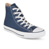 Converse Chuck Taylor All Star Canvas Hi-Top Trainers - Navy: Image 4