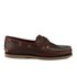 Timberland Men's Classic 2-Eye Boat Shoes - Rootbeer Smooth: Image 1