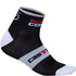Castelli Rosso Corsa 6 Cycling Socks - Black: Image 1