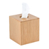 Wireworks Mezza Natural Oak Tissue Box: Image 1