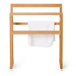 Wireworks Arena Bamboo Towel Rail: Image 5