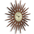 Newgate Pluto Wall Clock - Brown: Image 2