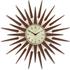 Newgate Pluto Wall Clock - Brown: Image 1