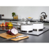 Morphy Richards 79009 3 Piece Saucepan Set - White - 16/18/20cm: Image 2
