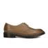 Dr. Martens Men's Milled Dorian 3-Eye Leather Shoes - Brown: Image 1