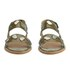 Folk Women's Indra Two Part Patent Leather Sandals - Bronze: Image 4