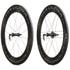Campagnolo Bora Ultra 80 Tubular Dark Label Wheelset: Image 1