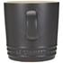 Le Creuset Stoneware Mug, 350ml - Satin Black: Image 3