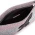 Matthew Williamson Women's Glitter Clutch Bag - Light Pink/Silver: Image 4