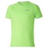 Asics Men's Shorts Sleeve Running T-Shirt - Green Gecko: Image 1